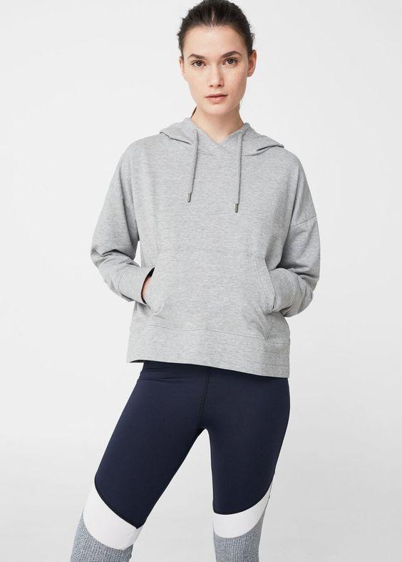 Sweater à capuche coton