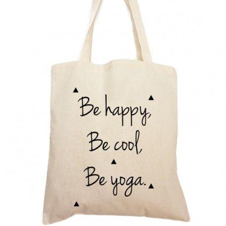 Tote bag be yoga