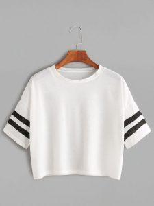 T-Shirt À L'épaule
