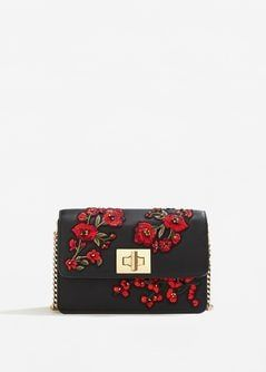 Sac broderie florale