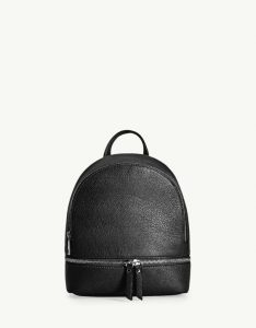 Mini-sac à dos zippé