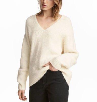Pull en laine mélangée