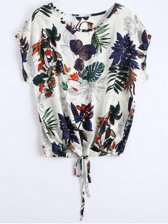 Blouse col rond