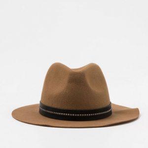 Chapeau marron Pimkie