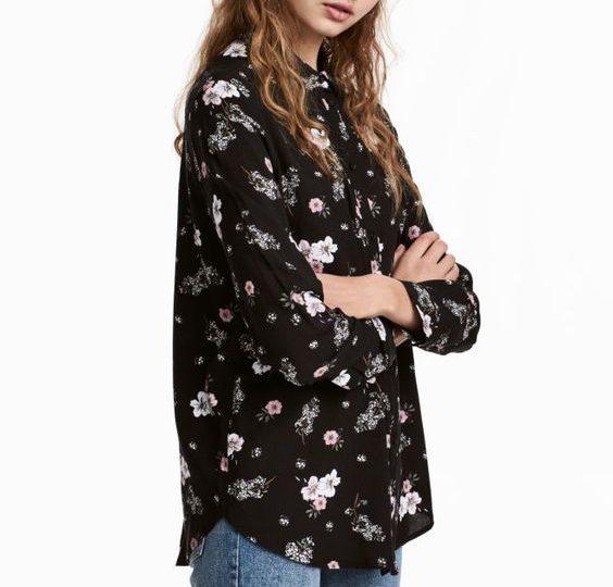 Chemise à fleurs H&M