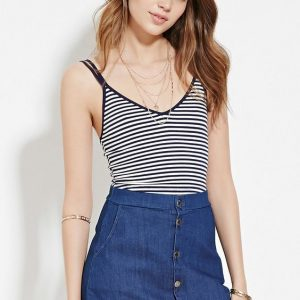 Crop top rayé - 5,50€